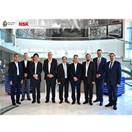 NSK senior-industrial-division-management-visit