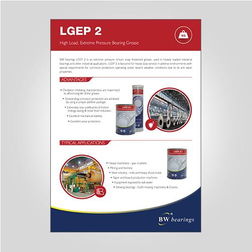 LGEP2 extreme pressure grease