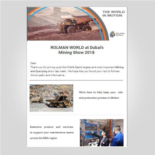 Mining Show Newsletter