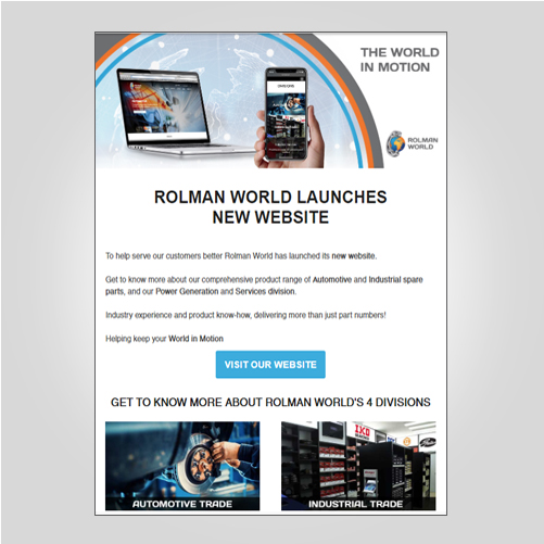 Newsletter New website launch