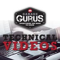 garage gurus technical videos