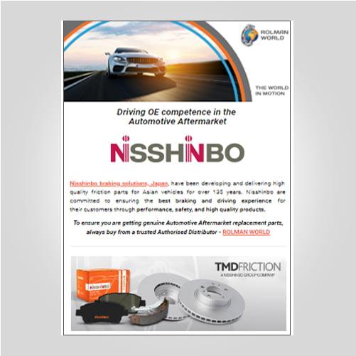Nisshinbo brakes 2019