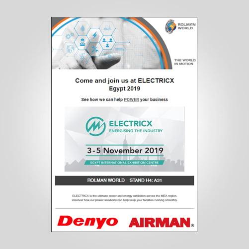 ElectricX exhibition egypt